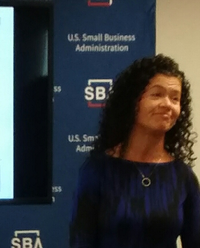 """Marcy Smorey-Giger presented """"Business Risks"""" with SCORE's Small Business Basics Workshop"""